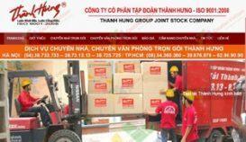 Website dịch vụ chuyển nhà Thành Hưng