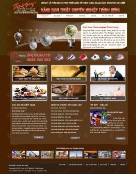 Website dịch vụ dịch thuật