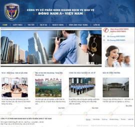 Website dịch vụ Bảo vệ Đông Nam Á – Việt Nam