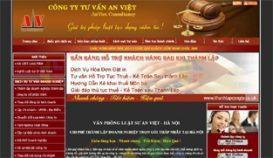 Website tư vấn luật An Việt