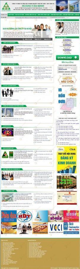 Website tư vấn luật HOÀNG TÂN MINH