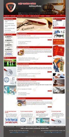 Website Văn phòng Luật sư Trường Thành
