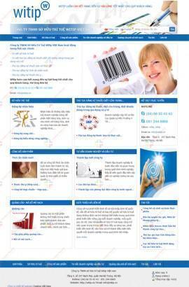 Thiết kế website sở hữu trí tuệ Witip