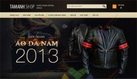 Website thời trang Haritoni