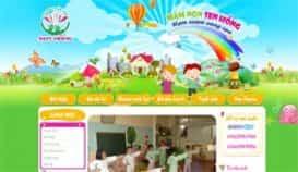 Website mầm non Sen Hồng