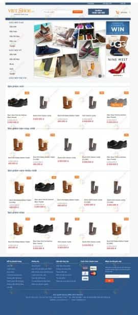 Website shop đồng hồ VietWatches