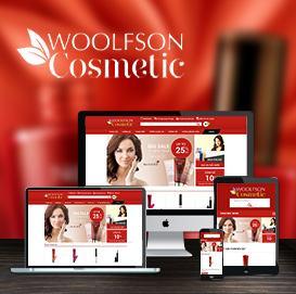 Web mỹ phẩm Woolfson Cosmetic