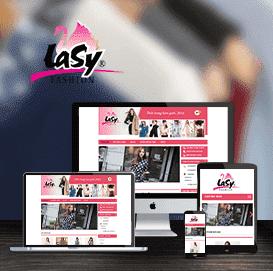 Web thời trang Hàn Quốc Lasy