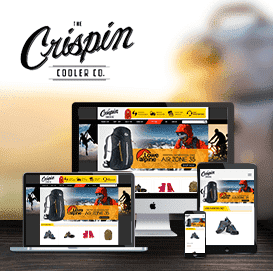Web về thời trang balo Crispin