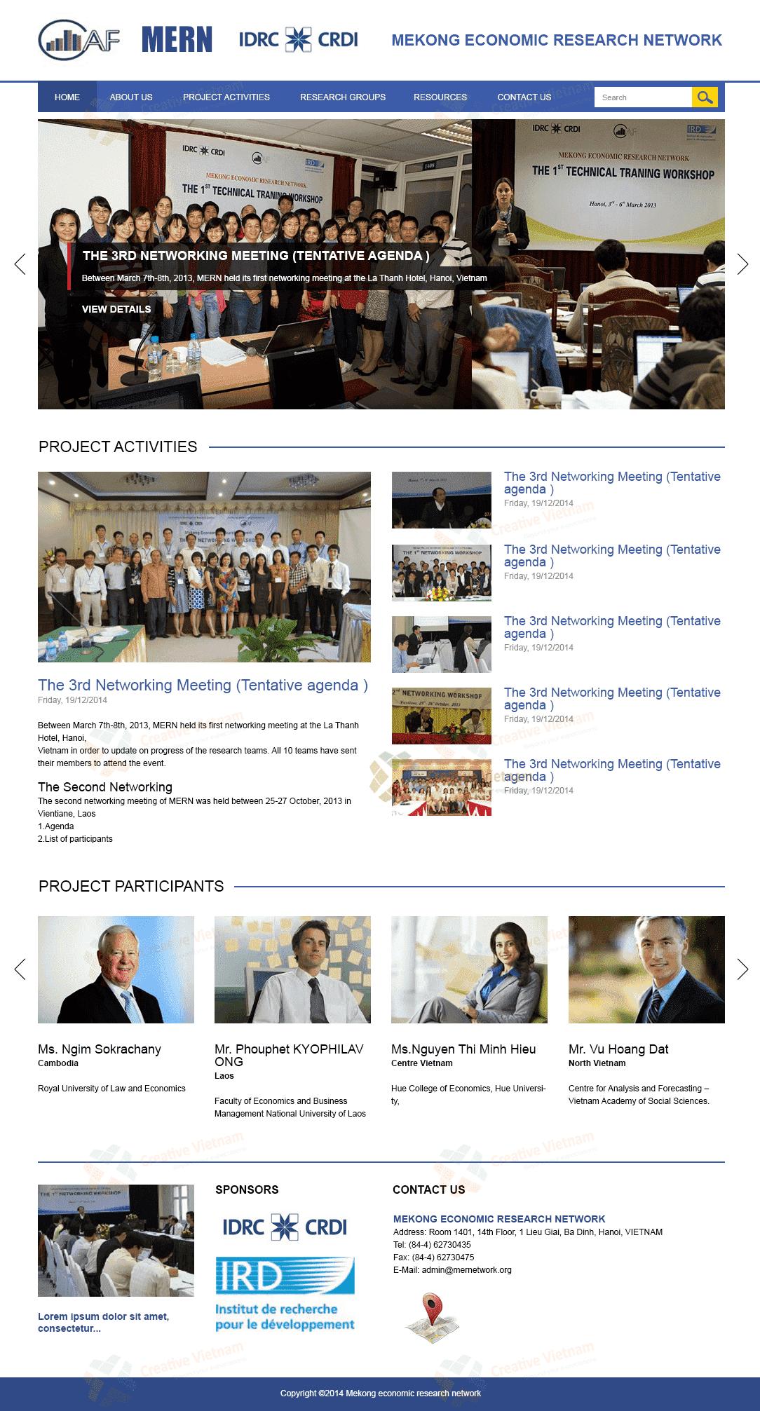 Thiết kế Website Dự Án kinh tế MERN