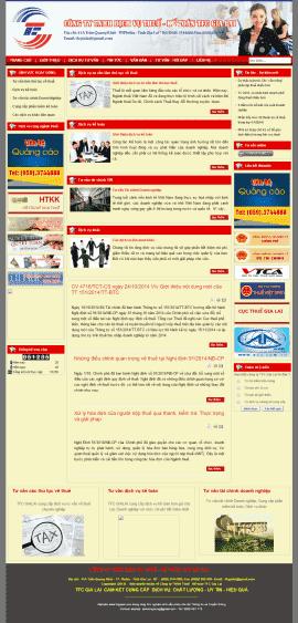 Website Luật – Kế toán