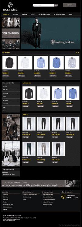 Website thời trang nam