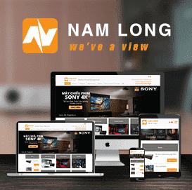 Website Công ty Phân Phối Máy Ảnh