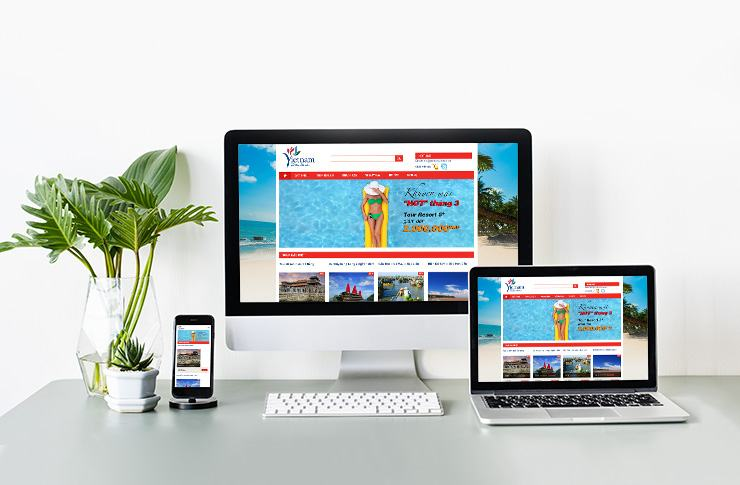 Website du lịch Vietrantour