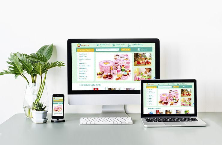 Website Mẹ và bé