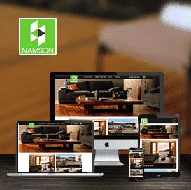 Website sàn gỗ Nam Sơn
