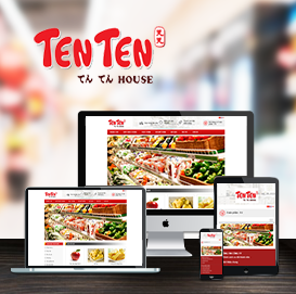 Website Siêu Thị Ten Ten House