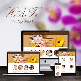 Website Thẩm mỹ viện Thu Hà