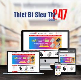 Website thiết bị siêu thị 247