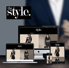 Website thời trang The Style