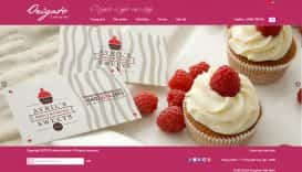 Website bánh ngọt Origato