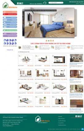 Website nội thất SEN