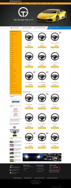 Website nội thất Ôto