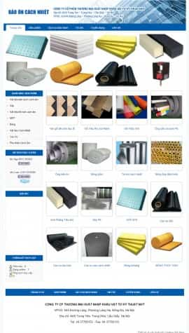 Website vật liệu cách nhiệt