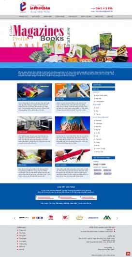 Website in ấn Phú Châu