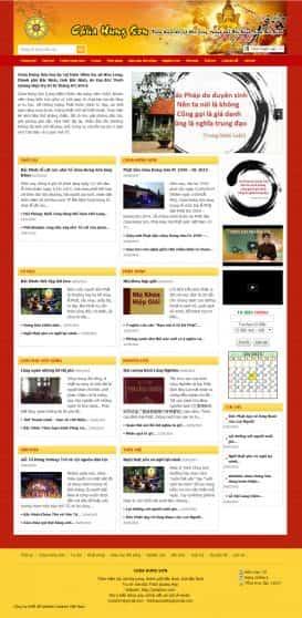 Website chùa Hưng Sơn