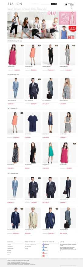Website thời trang Fashion News