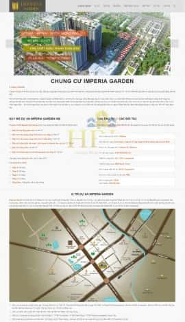 Website Dự án Time City
