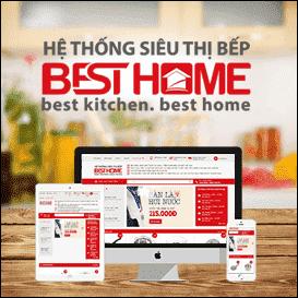 Website siêu thị bếp Besthome