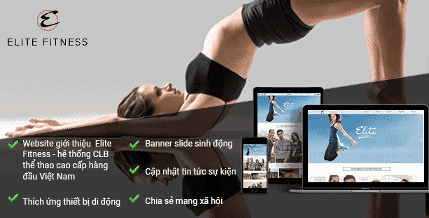 Website Elite Fitness