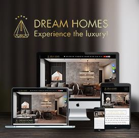 website BĐS Dreamhomes
