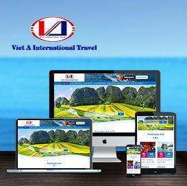 Website Du lịch Việt Á