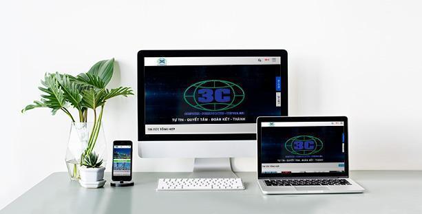 Website giới thiệu Công ty 3C