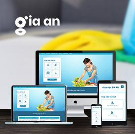 Website Giúp việc Gia An