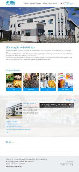 Website sản xuất máy móc