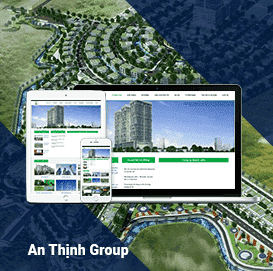 Website xây dựng Anthinhgroup