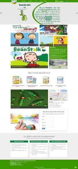 Website bán sữa