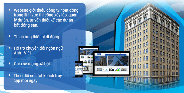 Website xây dựng Bidconspro