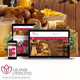 Website làm bánh