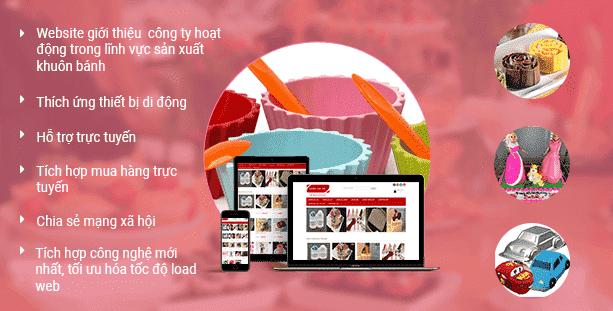 Website bán khuôn