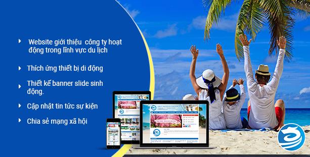 Website du lịch Rồng Việt