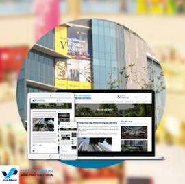 Website xây dựng Văn Phú Victoria