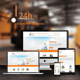 Website dịch vụ xe nâng