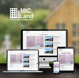 Website Bất động sản Long Biên