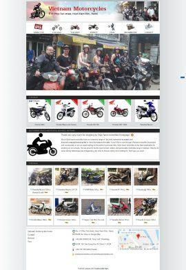 Website Cho thuê xe máy