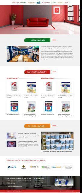 Website Công ty TNHH Thương Mại Và Xây Dựng Úy Thủy
